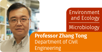 ENVIRONMENT AND ECOLOGY, MICROBIOLOGY-Professor Zhang Tong, Department of Civil Engineering